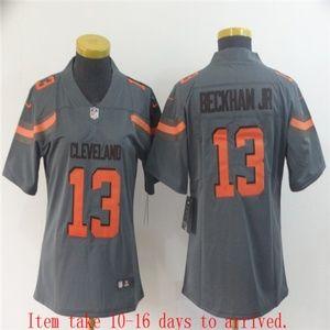 Women Browns #13 Odell Beckham Jr Jersey